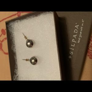Silpada sterling silver bead earrings